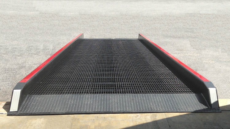 Dock to Ground Ramp Grating from Copperloy®