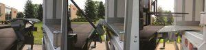 YARD-RAMP-SITE Edge of Dock Leveler in use