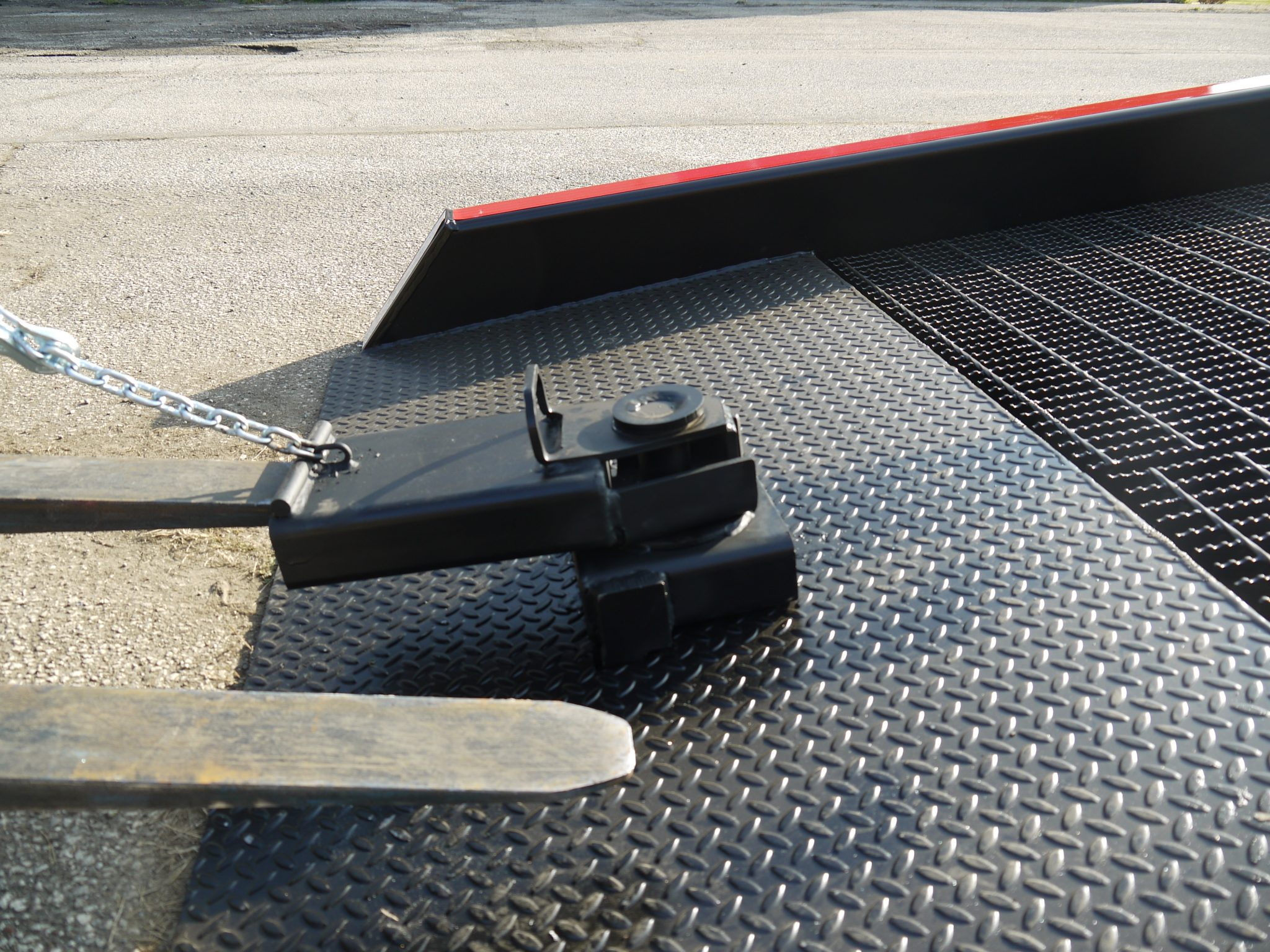 heavy duty steel truck ramps | positioning sleeve