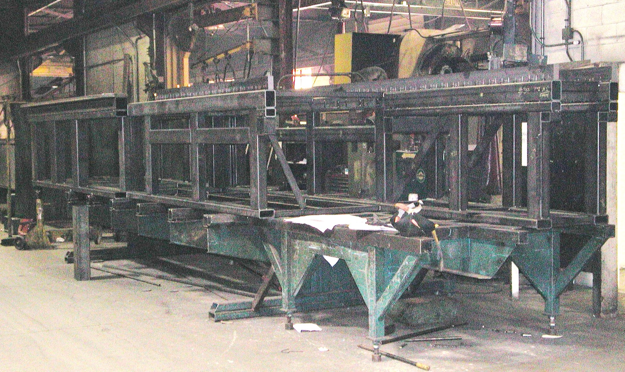 custom steel fabrication large machined fabrications