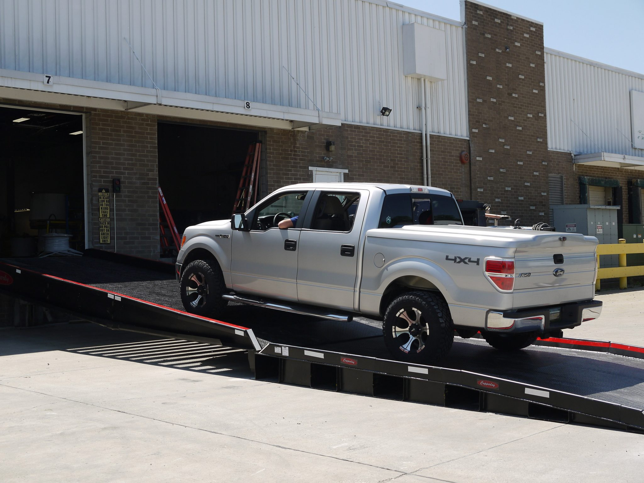 Dock to Ground Truck Ramp from Copperloy®