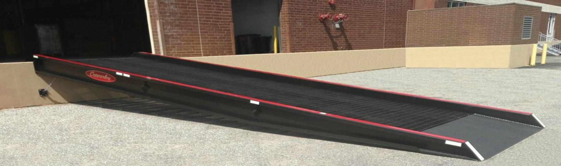 Dock to Ground Ramps from Copperloy®