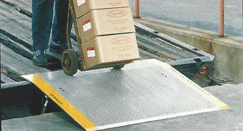 copperloy aluminum dock plate