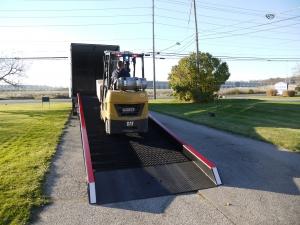 steel truck ramps Copperloy®