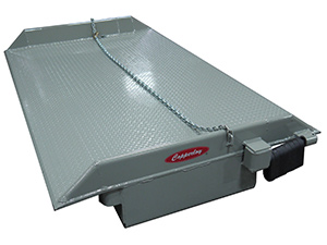 YARD-RAMP-SITE Dock Railboard with Lift Chains