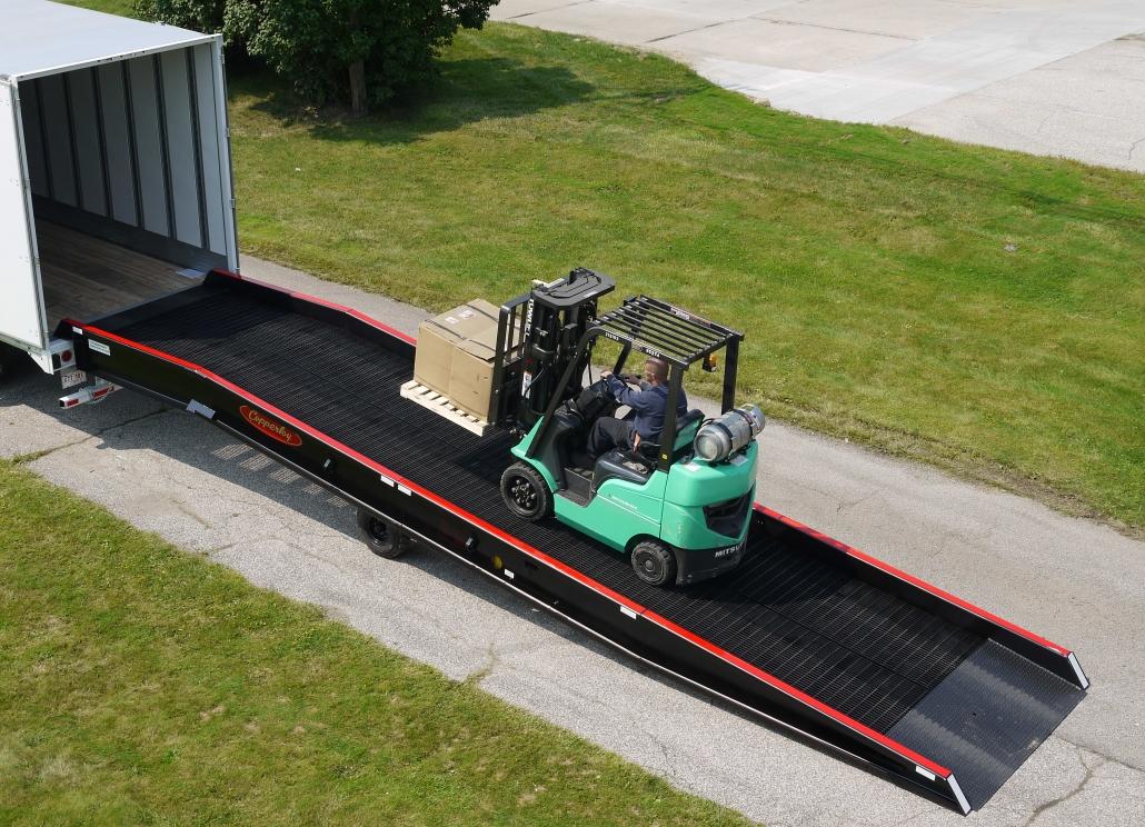 semi truck ramp