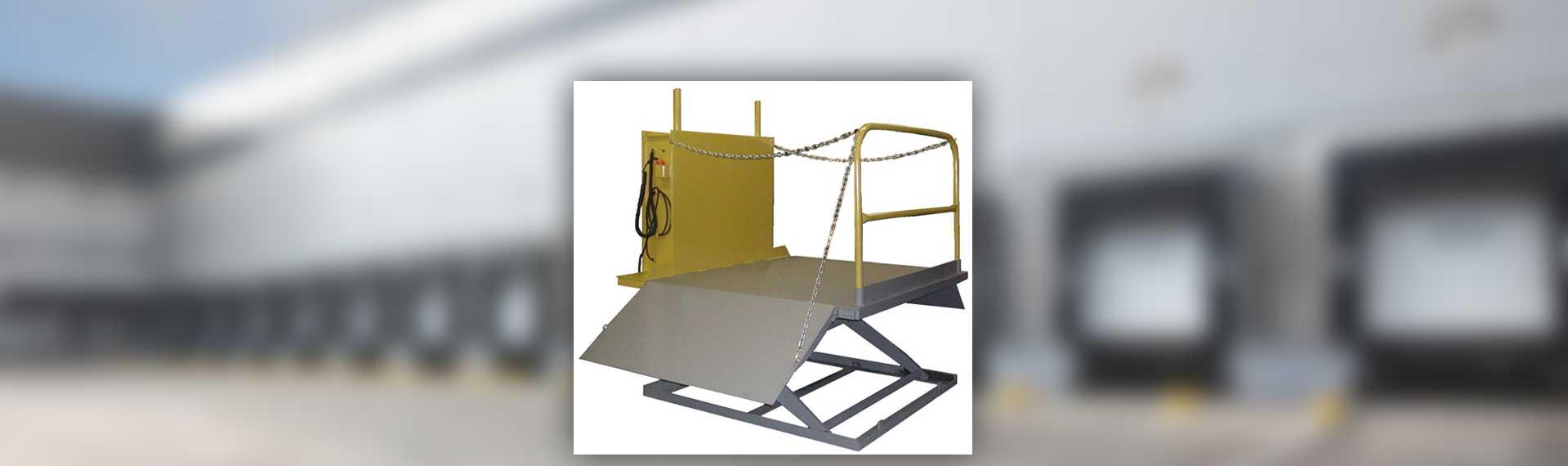 YARD-RAMP-SITE dock lift surface mount