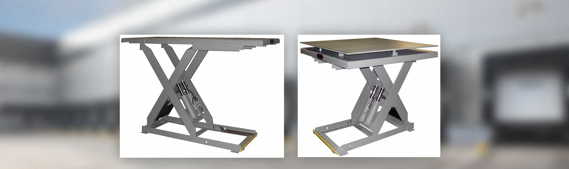 YARD-RAMP-SITE tables for dock lifts