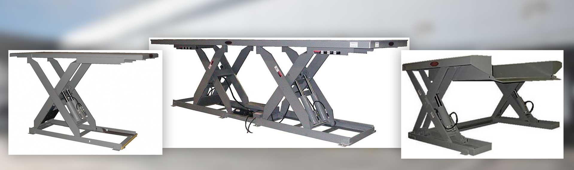 YARD-RAMP-SITE hydraulic lift tables