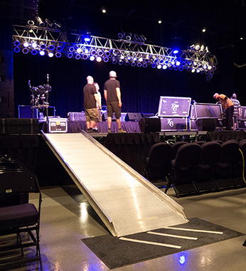 Stage Ramps for Concerts and Theater